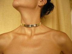 handmade sterling silver collar by BIZARREjewelry on Etsy, $160.00
