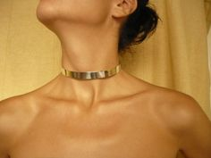 handmade sterling silver collar by BIZARREjewelry on Etsy, $160.00