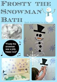 Bath Activities for Kids: Christmas Bath Activities for Kids