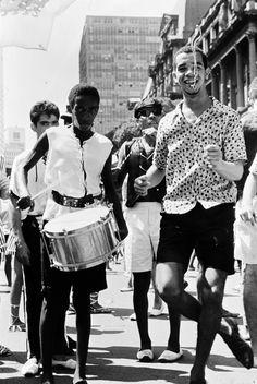 Carnaval no Rio de Janeiro, 1964. (Willy Rizzo/Paris Match/Getty Images)