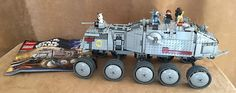 8098 Complete Lego Clone Turbo Tank Star Wars instructions minifig vehicle fig #LEGO