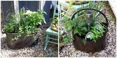 natural mosquito repelling planters, container gardening, gardening, pest control for your patio or yard seating area's --
