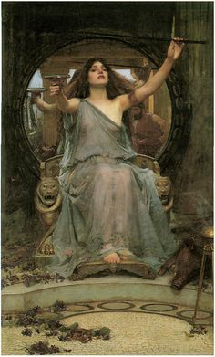Circe Passing the Cup to Ulysses by J W Waterhouse