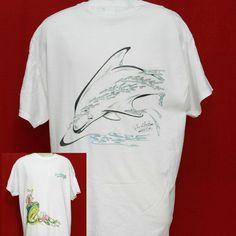 Fish T Shirt Fishing T-shirt LURE DORADO DOLPHIN MED