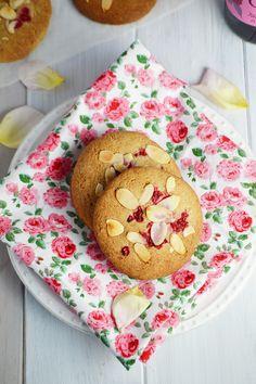 Raspberry Rose Cookies