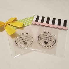 Fun idea for hostess gifts for a stamp party...made from the custom section…