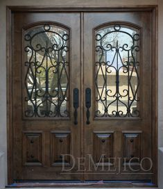 Spanish Style Front Doors | Puerta Avan stands out as an elegant Spanish-style door. These doors ...