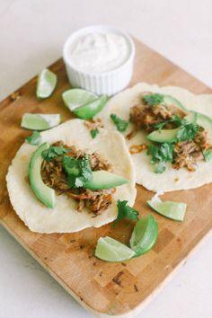 Easy pork tacos (with homemade tortillas!)