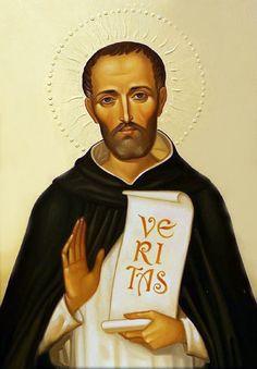 Saint Dominic, St Francis, Ex Libris, Christian Art, Religious Art, Jesus Christ, Fangirl, Saints, Spirituality
