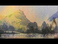 Painting Mountains by PETER WOOLLEY (DVD Trailer)