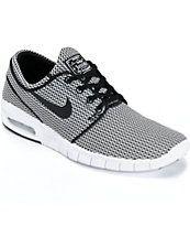 Nike SB Stefan Janoski Max Black & White Shoes