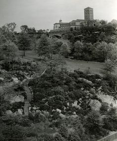 Check out this Now at the Met blog post, A Neighborhood of Castles in the Sky: Washington Heights before The Cloisters. #cloisters