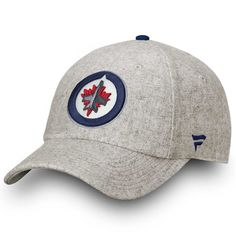 Men s Winnipeg Jets Fanatics Branded Khaki Team True Classic Fundamental  Adjustable Hat 3dca6b8b7