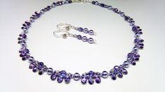 Souprava+Violet+Elegant+Originální+elegantní,ale+zároveň+i+jemná+souprava+vhodná+jak+ke+společenským+příležitostem,+tak+i+třeba+do+kostýmku,košili+či+šatům+Náhrdelník+je+vytvořený+z+nylonové+lanka+,perliček,+korálků+Pip,+broušených+korálků+velikosti+5+a+3+mm+a+japonských+korálků+Toho.++Vše+je+v+barvěsvětlé+fialovéa+korálky+pipvytvářejí...