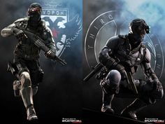 Splinter Cell Kestrel & Archer