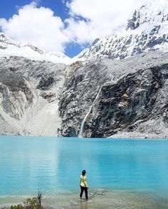 Tag your travel partner!  Location: The icy blue waters of Laguna 69 - Ancash, Peru. Photo Credit: @nextrip