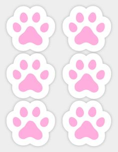 Shop Pink paw print, set of six paw print stickers designed by Mhea as well as other paw print merchandise at TeePublic. Sky Paw Patrol, Paw Patrol Cake, Paw Patrol Party, Paw Patrol Birthday Theme, Paw Patrol Decorations, Clue Party, Animal Party, Stickers, Birthday Invitations