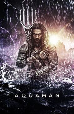 aquaman jason momoa | Jason Momoa as Aquaman - Poster (2016) by CAMW1N on DeviantArt
