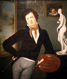 Oppenheim, Moritz Daniel (1800-1882) - 1816c. Self Portrait (Jewish Museum, New York)