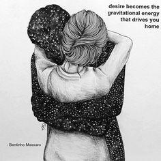 BENTINHO MASSARO - Desire becomes the gravitational energy that drives you home. - NOW FREE https://www.trinfinityacademy.com | https://www.trinfinity.us/