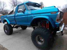 big ford trucks lifted - Google Search