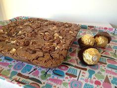 Brownies aux Ferrero Rocher | Tizi Cooks