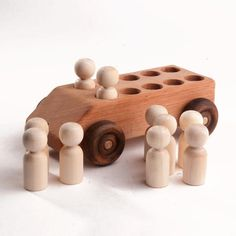 Wooden Baby Toys, Wooden Car, Organic Baby Toys, Organic Baby Products, Toddler Toys, Kids Toys, Wooden Rainbow, Push Toys, Natural Baby