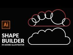 The Shape Builder tool is an interactive tool for creating complex shapes by merging and erasing simpler shapes. It works on simple and compound paths. Graphic Design Tutorials, Graphic Design Inspiration, Web Design, Font Design, Design Trends, Illustrator Shapes, Adobe Illustrator Tutorials, Portfolio Book, Portfolio Layout