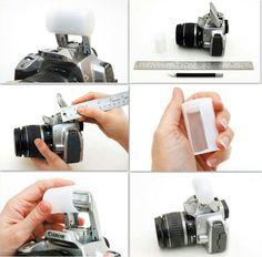 DIY Flash Diffuser