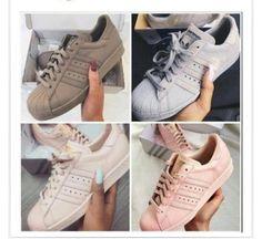 shoes adidas superstars adidas pink grey olive green