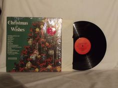 ENDING SOON!  Christmas Wishes Label: Columbia Special Products ‎– P 13844  33 RPM LP Vinyl