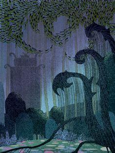 kay nielsen | Guest Post: Kay Nielsen Inspired Illustration by Josie Portillo - Mid ...