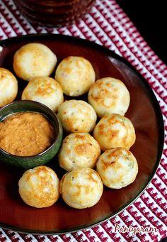 Paniyaram recipe - Small ball shaped pan fried cakes from south India known by different names kuzhi or masala paniyaram, paddu..