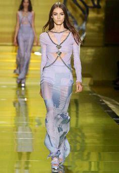 Versace S/S14 - Milan Fashion Week