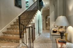 LOVE this brick ... even going up the stairs! Wonderful usage!