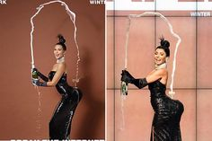 Kelly Ripa dressed up as Kim Kardashian's 'Paper' magazine pic for Halloween and it was HILARIOUS!