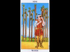 Tarot Card Lessons Made Easy  Highlighting The 9 Of Wands