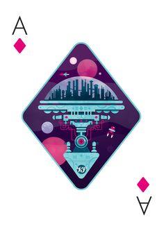 Versus illustration playing cards by barney ibbotson inspiration игральные Cool Playing Cards, Custom Playing Cards, Zine, Trump Card, Deck Of Cards, Card Deck, Card Games, Graphic Design, Las Vegas