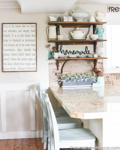 Open shelving - Simple decorating tips to transform your kitchen