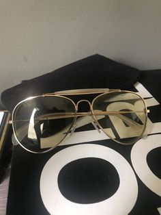 4085ad00e50b ... CL41490 59 15 145 AVIATOR SUNGLASSES GOLD YELLOW  fashion  clothing   shoes  accessories  womensaccessories  sunglassessunglassesaccessories ( ebay link)
