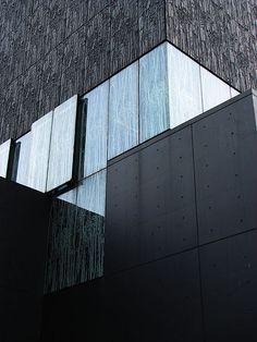 *modern architecture, design, facades, windows, wall texture* - Utrecht University Library