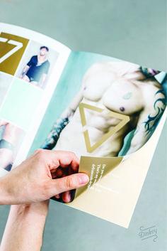 Projekt katalogu bielizny męskiej Von Coda.