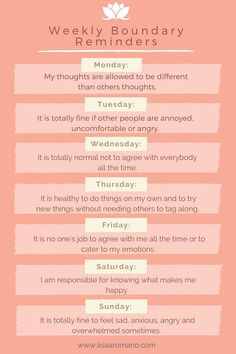 Weekly boundary reminders - self care Codependency Recovery, Recovery Humor, Recovery Quotes, Codependency Quotes, Sobriety Quotes, Relation D Aide, Affirmations, Mental And Emotional Health, Personal Development