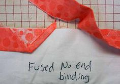 fused no-end binding