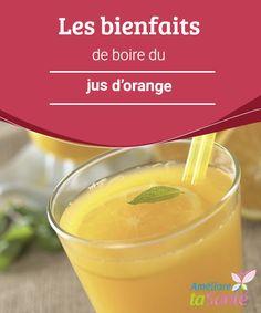 Les #bienfaits de boire du jus d'orange   Vous aimez le jus #d'orange ? Ça tombe bien, car il présente de multiples bienfaits pour la #santé ! Venez découvrir toutes ses incroyables #propriétés !