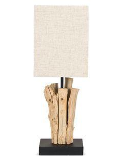 Mini Bleached Table Lamp