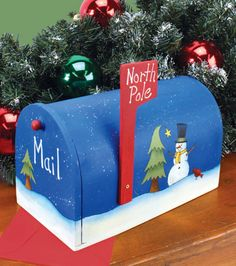 North Pole Mailbox, perfect for Jude's letters to Santa!