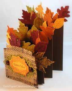 Kristi's Paper Creations: Autumn Colors, Autumn Leaves