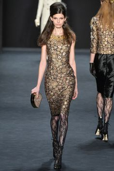 Badgley Mischka Fall 2015 Ready-to-Wear - Collection - Gallery - Style.com