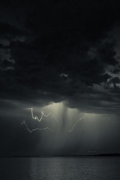 Mood Lightning by JF Godin Tornados, Wild Weather, Stormy Night, Lightning Strikes, Natural Phenomena, Beautiful Sky, Science And Nature, Natural Wonders, Pretty Pictures